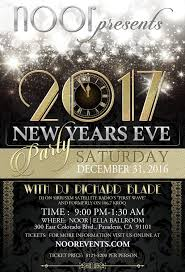 new years party package nye2017 noor
