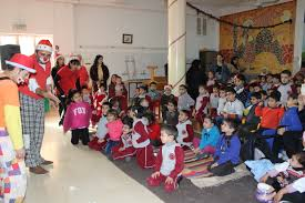a christmas party for children at pbc the jerusalem princess