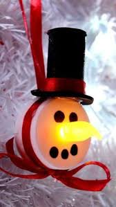 27 diy ornaments can help craft snowman