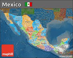 political map of mexico free political map of mexico darken