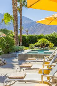 Palm Springs Outdoor Furniture by Palm Springs Home Channelling The Hollywood Regency Look