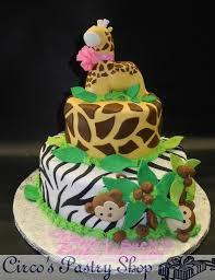 giraffe baby shower cake italian bakery fondant wedding cakes pastries and
