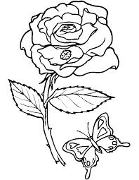 coloriage de fleur à imprimer