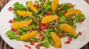 cuisiner le cresson salade de cresson orange et grenade recette par kilometre 0