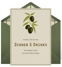 dinner invitation dinner party invitations