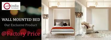 Wall Mounted Folding Bed All India Furniture U2013 Furniture Manufacturer Mumbai Custom Beds