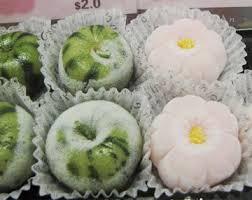 membuat kue dari tepung ketan moshi moshi hanamochi oishii desu