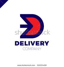 letter d logo arrow letter d stock vector 522224458 shutterstock