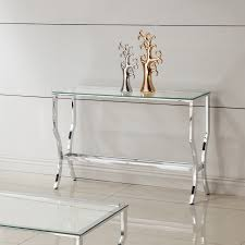 Magnussen Sofa Table by Magnussen Furniture U0027 Glass Sofa Table Furniture Glass Metal Dark