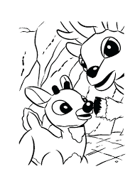 and his dad coloring page 122 inspiring rudolph the red nosed