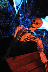 skeleton coming out the coffin halloween party 2014 pinterest