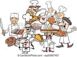 cuisine clipart international cuisine chefs clipart vector