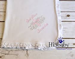 baptism blanket personalized embroidered baptism bib personalized baptism bib bautizo