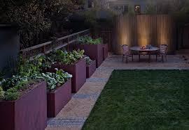 san francisco planter box ideas landscape contemporary with
