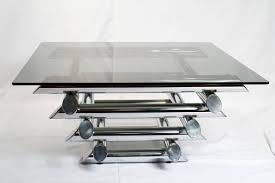 chrome glass end tables coffee table brass and glass side table end tables for living room