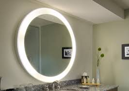 Bathroom Mirror With Lights Built In Absolutely Smart Bathroom Mirror With Lights Built In Wall Mirrors