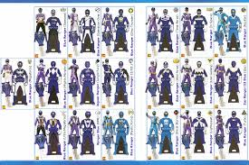power rangers super megaforce keys blue lavenderranger