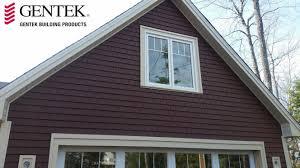gentek my design home studio grayne siding in homestead red specialty siding pinterest