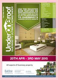 Livingroom Estate Agents Guernsey by Underoneroof 20th Apr 2015 Issue By Coast Media Issuu