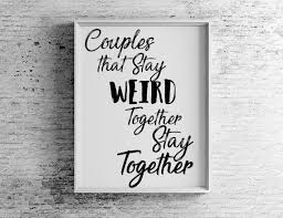 Quotes For Home Decor by Cute Couples Print For Home Decor U2013 Kat N U0027 Drew Cards