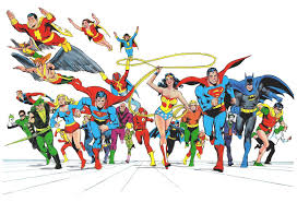 70 entries in justice league backgrounds group