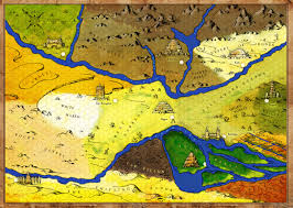 Fertile Crescent Map Hand Drawn Game Map Of Ancient Mesopotamia Forge22 Design