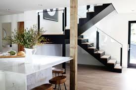 scandi in seattle a midcentury makeover with lots of affordable new glass and steel lookalike stair in a remodeled ralph anderson 1966 home in bellevue