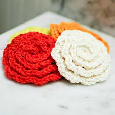 Crochet Flower Rug Bath And Spa Accessories Round Up Cre8tion Crochet