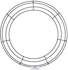 amazon com wire wreath frame 12
