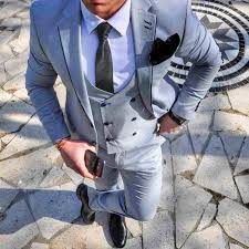 mens light gray 3 piece suit 50 stunning bespoke suit ideas super colors and design to choose from