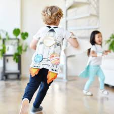 galaxy rocket adventure cape for toddlers