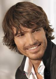 Mens Hairstyle Generator by Super Smooth Short Brown 100 Indian Remy Hair Mens Wigs Mens