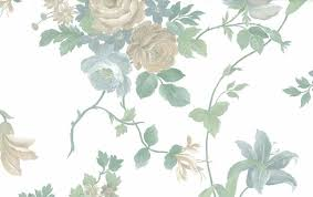 waverly pearlized floral vintage wallpaper beige white green 578002