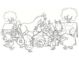 farm tractors farm animals coloring pages coloring for