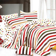 rainbow dots u0026 stripe 4pc duvet cover set full size my bed covers