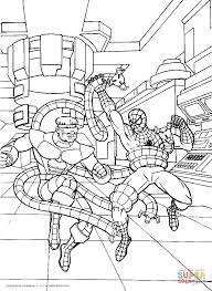 brave spider man coloring free printable coloring pages