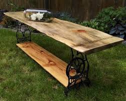 live edge outdoor table live edge wood display table flock interiors furniture reselling