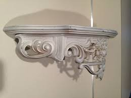 Shabby Chic Wall Shelves by Vintage 1965 Syroco Wall Shelf Shabby Chic Style White What U0027s It
