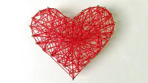 diy valentine u0027s day room decor gift ideas diy string heart
