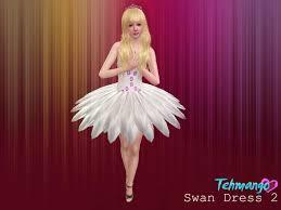 swan dress tehmango swan dress