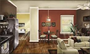 Open Floor Plan Kitchen Living Room by Kitchen Living Room Open Floor Plan Paint Colors Wood Floors