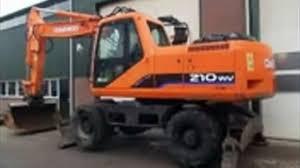 daewoo doosan solar 210w v wheel excavator service repair shop