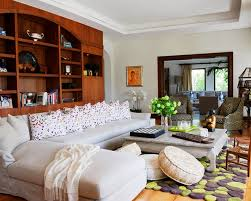 contemporary family room design with awesome floor cushions nytexas