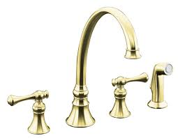 Kohler Brass Kitchen Faucets by Kitchen How To Maintenance And Replacement Kohler Faucets Parts