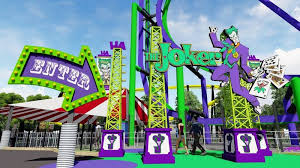 six flags to debut new roller coaster the joker in 2017