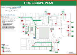 evacuation floor plan template evacuation plan template sop exle