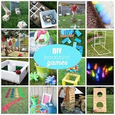 Diy Backyard Games by Diy Backyard Games For Summer Create Craft Love