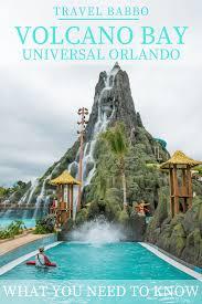 Citywalk Orlando Map Volcano Bay At Universal Orlando Resort What You Need To Know