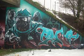 boba fett street art from scotland star wars