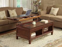 coffee tables dazzling stylish glass lift up coffee table idea